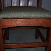 Arts and Crafts Desk Chair in QSRO