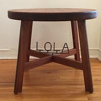 Lola's stool - Woodworking Project by Indistressed