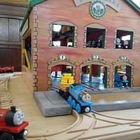 Thomas and Friends Steamworks  - Woodworking Project by Justin