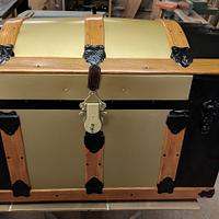 Stage coach Trunk - Woodworking Project by Rickswoodworks