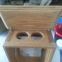 mixing of the sands box - Woodworking Project by Jeff Vandenberg