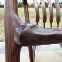Sculpted Rocker - Built in 2012 - Woodworking Project by Tim Dahn