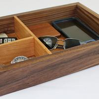 Walnut and Cherry Valet #2 - Woodworking Project by David E.