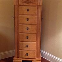 Jewelry Armoire - Woodworking Project by Mpad