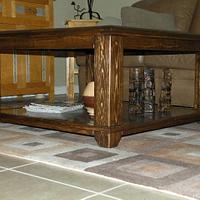 Mosaic Sunburst Coffee Table - Woodworking Project by Angela Maddock