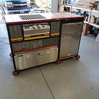 Outdoor kitchen Train - Woodworking Project by Justin