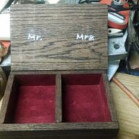 Wedding Ring box - Woodworking Project by BurninBush