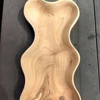 Curvy maple bowl - Woodworking Project by Mark Michaels