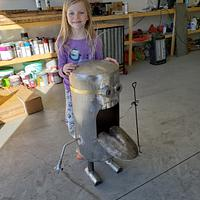 Minion Wood Stove  - Woodworking Project by Justin