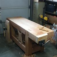 Roubo Workbench - Woodworking Project by 3fingerpat