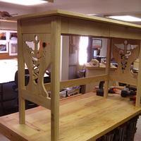 Desk for an RN graduate