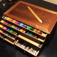 My pencil box - Woodworking Project by Andulino