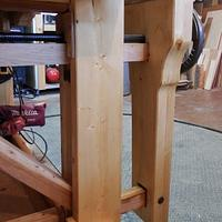 AUTO QUICK RELEASE LEG VISE  - Woodworking Project by kiefer