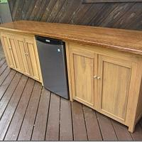 Updated bar top pics - Woodworking Project by Hartman Woodworks
