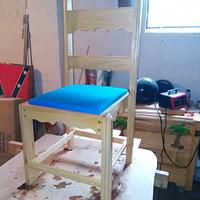 chairs to match table and china hutch - Woodworking Project by jim webster