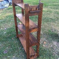 Craftsman Style Book Shelf