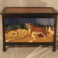 Tiger cedar chest - Woodworking Project by tinnman65
