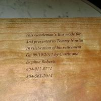 Gentleman's Box - Woodworking Project by David Roberts