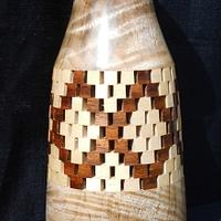CRISS-CROSS VASE - Woodworking Project by Sam Shakouri