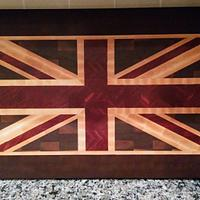 The Union Jack - Woodworking Project by mmcquillan13