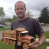 Wood models of my own design  - Woodworking Project by Kidmancreations