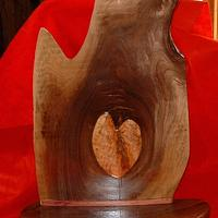 HEART OF THE WALNUT - Woodworking Project by grizzman
