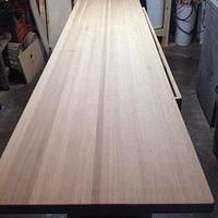 White oak, butcher block, counter top