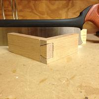 Handcut Dovetail - Woodworking Project by Dusty1