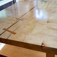 Scandinavian Nakashima - Woodworking Project by Manitario