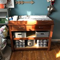 Mahogany Changing Table  - Woodworking Project by David A Sylvester