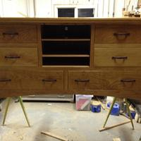 son's tv stand and dresser combo