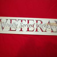 Veteran Plaque - Woodworking Project by Kepy