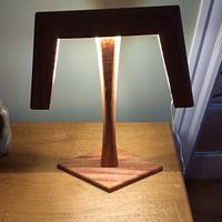 Led table lamp - Woodworking Project by Hopewellwoodwork