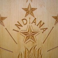 Indiana State woodcarving - Woodworking Project by Roger Strautman