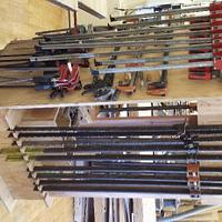 Rolling clamp rack - Woodworking Project by a1jim
