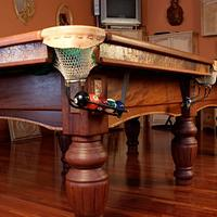 Pool table - Woodworking Project by Glaros Studios