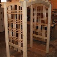 GARDEN ARBOR - Woodworking Project by kiefer