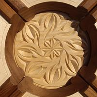 Very large foldout chip caring - Woodworking Project by Roger Strautman