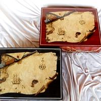Marquetry Chart Boxes