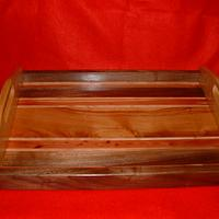 serving tray - Woodworking Project by grizzman