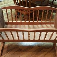 Cherry Cradle - Woodworking Project by handyman1964