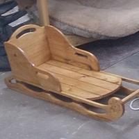 Wood Sled - Woodworking Project by Chris Tasa