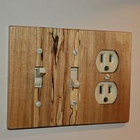 Cover Plates - Woodworking Project by Railway Junk Creations