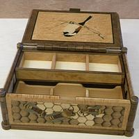 Birds and Bees, A Reversible Marquetry Box - Woodworking Project by shipwright