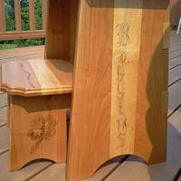 foot stool - Woodworking Project by wooddog
