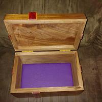 Purple heart bow  - Woodworking Project by Wheaties  -  Bruce A Wheatcroft   ( BAW Woodworking)
