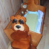 My Grandson's Cradle - Woodworking Project by Tony