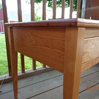 Cherry table - Woodworking Project by MontyJ