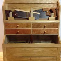 My Heirloom Toolbox - Woodworking Project by David L. Whitehurst
