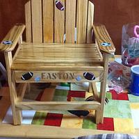 great grandson chair - Woodworking Project by jim webster
